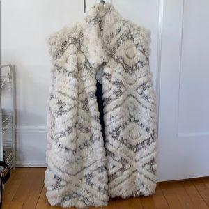 Anthropologie Fur Vest
